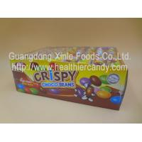 Normal Sugar Coated Mini Chocolate Beans Colorful Children Love For African Manufactures