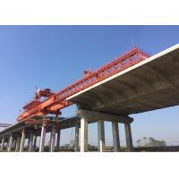 China Hydraulic Launching Gantry Crane Steady Flexible High Operating Efficiency for sale