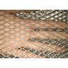 Plain Expanded Metal Sheet , Diamond Steel Mesh Sheet Customized Size for sale