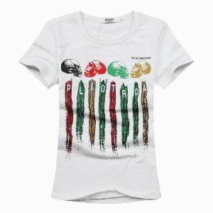 Custom skull print shirt,short sleeve colorful painting shirt,hi pop style shirt Manufactures