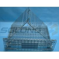 Warehouse Industrial Metal Box Pallet Storage Wire Steel Stackable Cages Manufactures