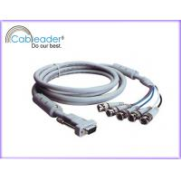 China High Speed VGA to TV Cable HD15M - 5XBNC male cable with Ferrite cores on sale