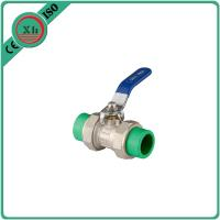 High Pressure PPR Ball Valve Brass Drain Cock 20 Mm - 63 Mm Welding Connection Manufactures