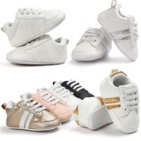 China Casual pu Material sneaker 0-2 years First walker  boy and girl baby shoes on sale