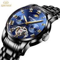 Buy cheap Analog Pointer Tourbillon Mechanical Watch Mens Mechanical Watches from wholesalers