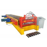400 H Beam Floor Deck Roll Forming Machine Roller Material High Grade GCr15 Manufactures