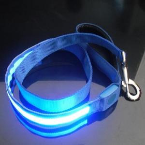 2012 Unique Woven LED Dog Leashes Manufactures