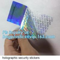 Sliver Self Adhesive Void Sticker Label,Removed Label Custom Best Price High Quality Void Label Sticker Open Void Securi Manufactures
