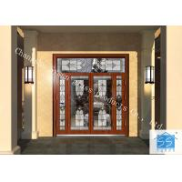 China Hollow Insulated Privacy Decorative Panel Glass Red Copper Thickness 25.4 MM on sale