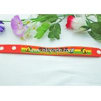 Fashion eco-friendly printed silicone wrist band/custom black rubber wristband Manufactures