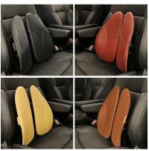 China Breathable Foam Car Seat Cushion , Vertebral Car Waist Cushion Scientific Design on sale
