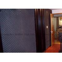 High Density Acoustical Foam Panels Black Ktv Studio Acoustic Insulation Materials Manufactures