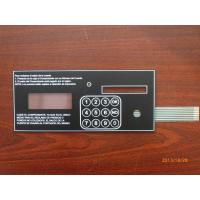 China Embossed Rubber Keys Led Tactile Membrane Switch Keypad , Moisture Proof on sale