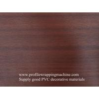 China wood grain pvc lamination film on sale