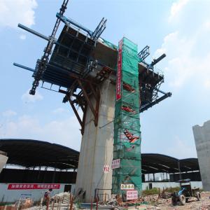 China Bridge Formwork System Construction Steel Segment Mould Cantilever Form Traveller Cast in situ Formwork on sale