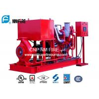 Quality Centrifugal Diesel Engine Driven Fire Pump , 200GPM Diesel Fire Water Pump for sale