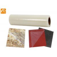 Granite / Ceramic / Marble Self Adhesive Film No Residue Left PE Material Manufactures