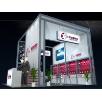 China Custom Portable Truss Trade Show Displays , 5m*5m Exhibition Display Stands on sale