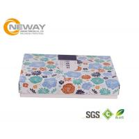 China Flower Gift Box OEM / ODM Customized Flower Gift Packaging Boxes With Silk Printing on sale