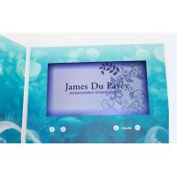 custom Multi - page handmade lcd video greeting card for fair display Manufactures