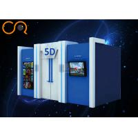 CE SGS 5D Cinema Equipment 6dof Motion Platform With Special Effect System Manufactures