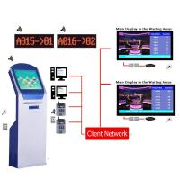 China High Quality Arabic Multilingual Wireless LCD Counter Display EQMS Electronic Queue Management Systems Solution For Bank on sale