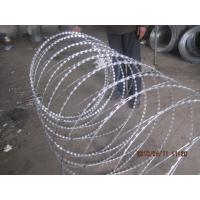Hot Dipped Galvanized Stainless Steel Razor Wire Manufactures