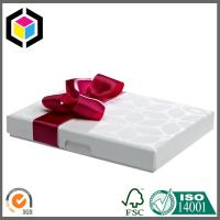 China White Chocolate Paper Packaging Box; Luxury Chocolate Gift Paper Box on sale