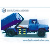 140 Long Cab Lifting Diesel Garbage Trucks / Refuse Truck YC4E140-33 Engine Manufactures