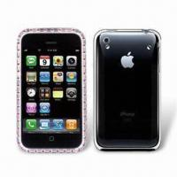 China Crystal Case for iPhone 3GS, Provides Strong Layer of Protection, Lightweight on sale