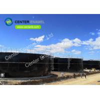 4000000 Gallons Bolted Coated Steel Biogas Storage Tank For Bio - Energy Project Manufactures