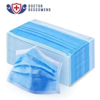 Protective Non Sterile Breathable 3 Layer Face Mask Manufactures
