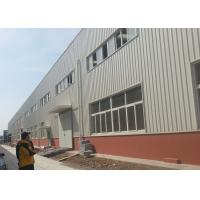 Fire Proof  Steel Warehouse Construction 120 * 60 * 9 M For Impulse Sport Equipments Manufactures