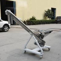 304  Stainless steel Small grain augers Screw conveyer for powder sand cereal Manufactures