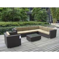 9pcs garden cane furniture All Weather Wicker Patio Furniture Manufactures
