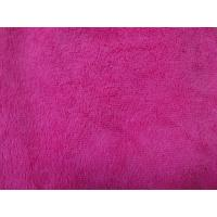 Red colorful warp terry cloth 50*60 textile microfiber household cleaning towel Manufactures