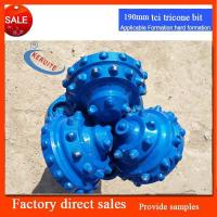 190mm  insert button tricone bits for water well works in rock and sand quote Manufactures