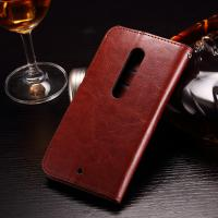 Colored Moto X Play Leather Case , PU Leather Motorola Protective Case Manufactures