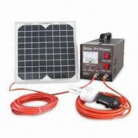 Solar Power System with 20W,12V DC Voltage, Suitable for Home Manufactures