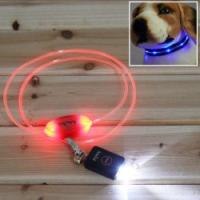 Quality Yellow LED Shining Nylon Pet Accessory for sale