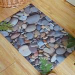 Indoor Soft Rubber Floor Carpet Anti-Slip Rectangular With Beautiful Design Manufactures