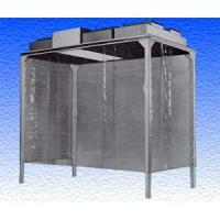 Vinyl Strip Curatins Laminar Air Flow Clean Shed  With H14 HEPA Filters Manufactures