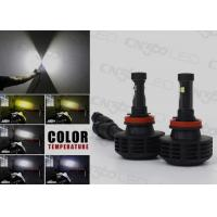China Dual Side H11 Led Automotive Headlights 6000 Lumen with Cree Chip on sale