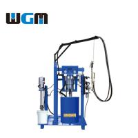 China ST06 Manual Silicone Glue Spreading Machine Insulating Glass Sealing Machine Air Motors System on sale
