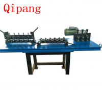 Black Wire Rod Straightening And Cutting Machine 0.8-4mm Line High Power Manufactures