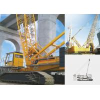 Jib Tracked Hydraulic Crawler Crane QUY130, Knuckle Boom Crane for Lifting Heavy Things for sale
