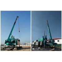 Highway Hydraulic Static Pile Driver / Hydraulic Press In Pile Driver Manufactures