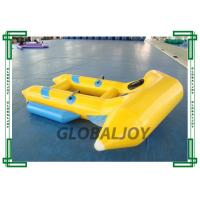 0.9mm Inflatable Flying Fish Boat 4 Persons Towable Boat For Water Game Manufactures