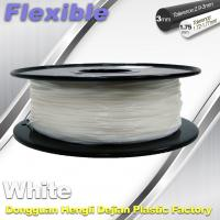 Red Flexible 3d Printer Filament materials in 3d printing 1.75 / 3.0 mm 0.8KG / Roll Manufactures