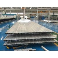 4.2M 6063 T6 Aluminium Extruded Profiles 16.8MM Wall Thickness Used As Subway Train'S Side Wall Manufactures